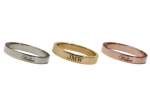 Goldenthread Personalized Band