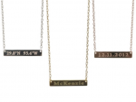 Goldenthread Nameplate Necklace
