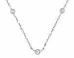 KC Designs 8 Diamond by the Yard Necklace