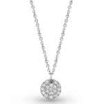 KC Designs Diamond Disc Necklace