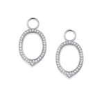 KC Designs Oval Earring Charms